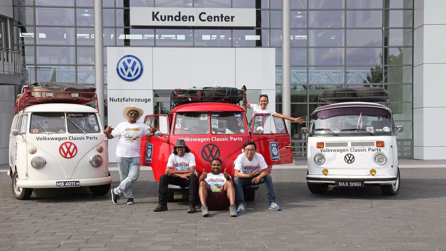 Un périple de 20'000 km en VW Combi