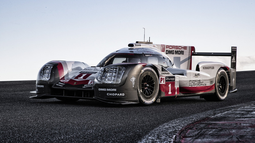 Porsche Officially Reveals 2017 LMP1 Car