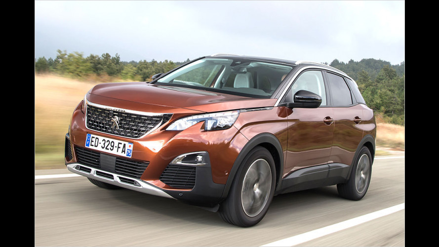 Peugeot 3008 ist Car of the Year