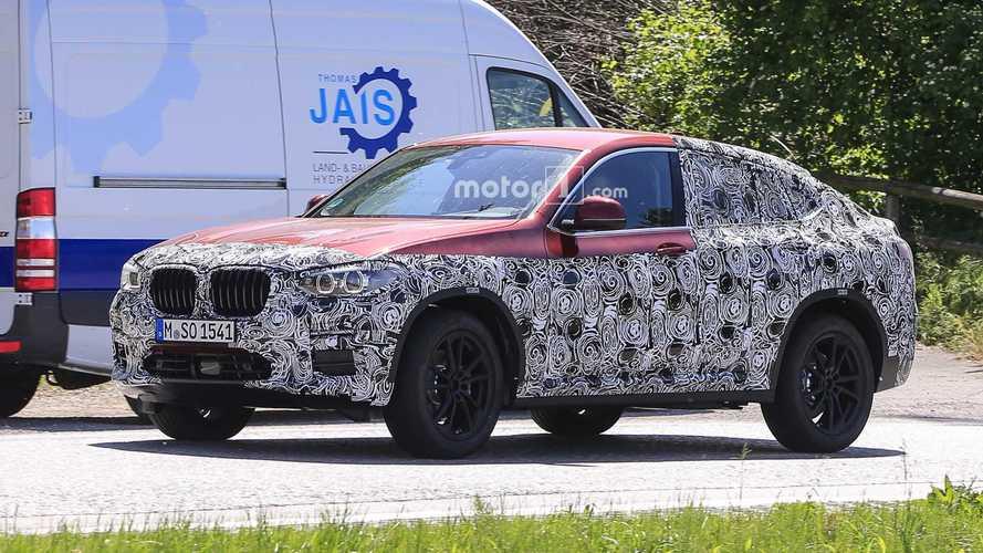 2019 BMW X4 new spy shots