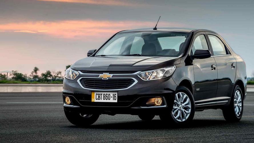 Chevrolet Cobalt 2017 feito no Brasil chega ao Peru por R$ 48,9 mil
