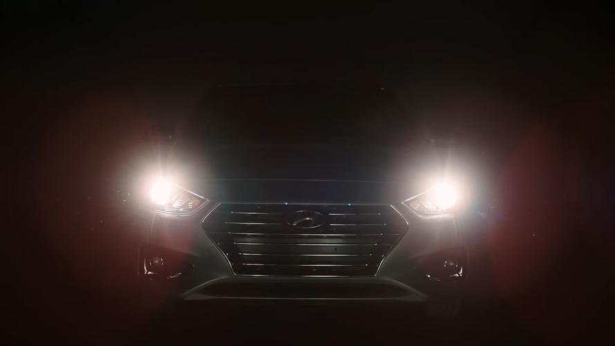 2018 Hyundai Accent önümüzdeki hafta tanıtılıyor