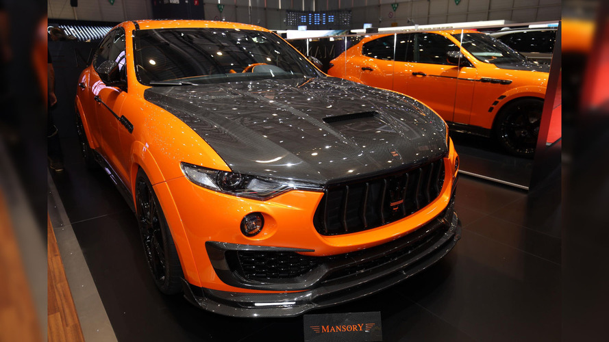 Orange you glad Mansory tuned a Maserati Levante