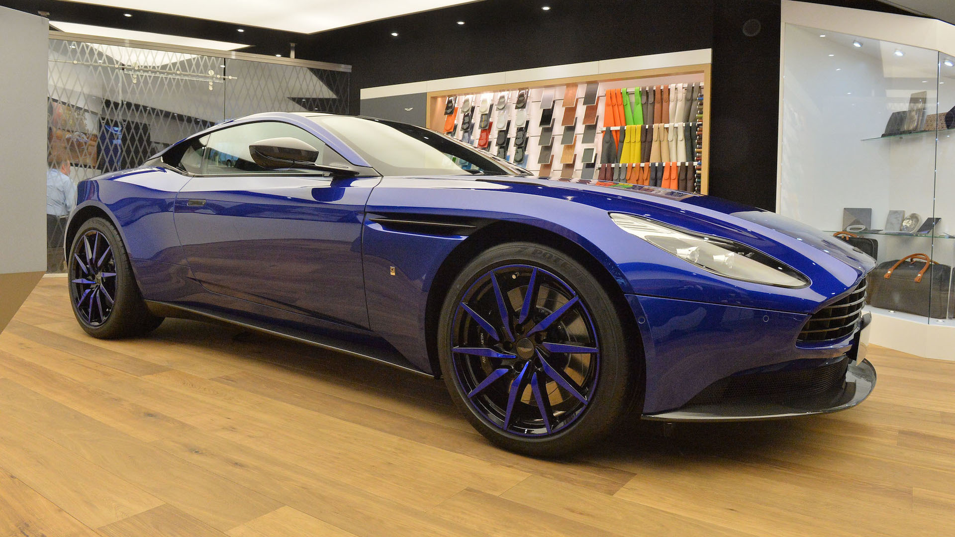 Aston martin db11 by q will leave you feeling blue in geneva reheart Gallery