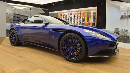 Genève 2017 - Une Aston Martin DB11 personnalisée par Q