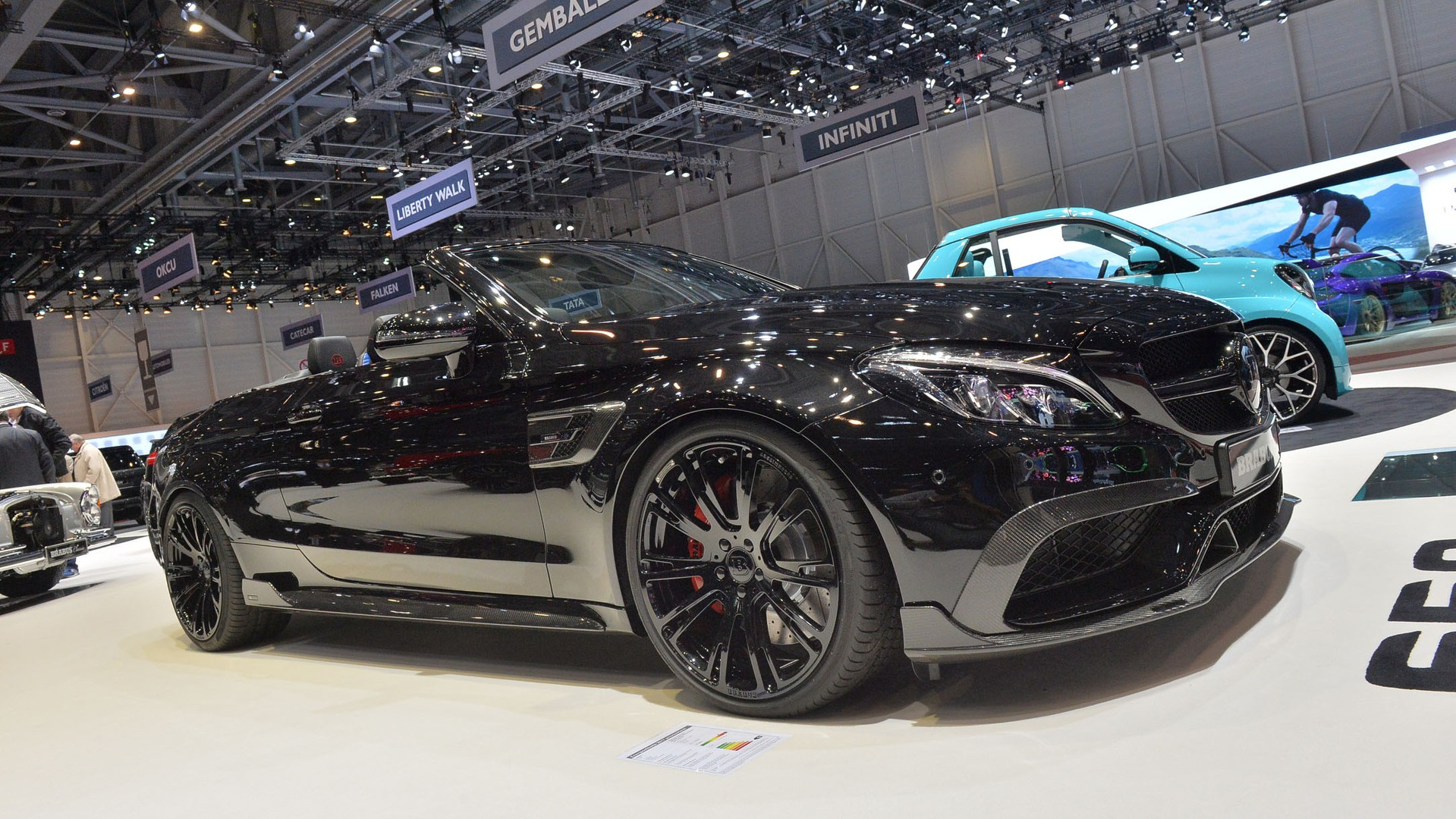 brabus brings sinister 200 mph mercedes amg c63 s cabriolet to geneva. Black Bedroom Furniture Sets. Home Design Ideas