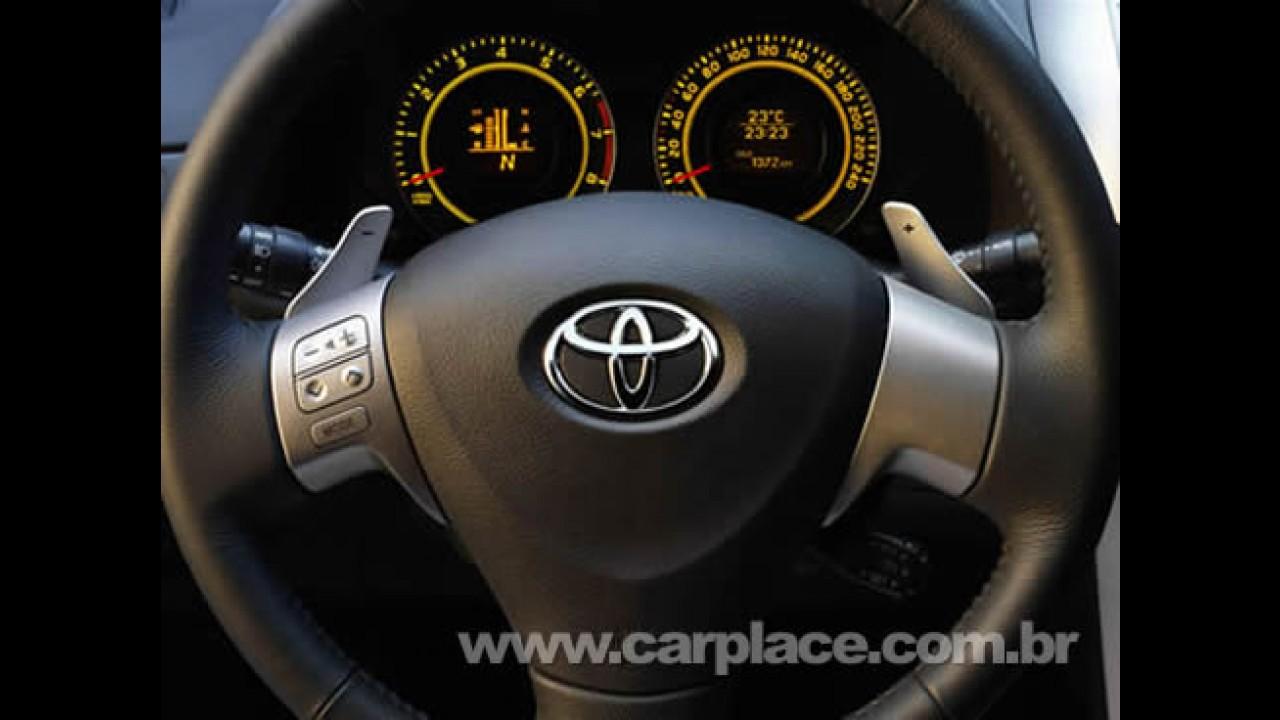 Novo Toyota Corolla 2009 será lançado oficialmente no Brasil no dia 26/03
