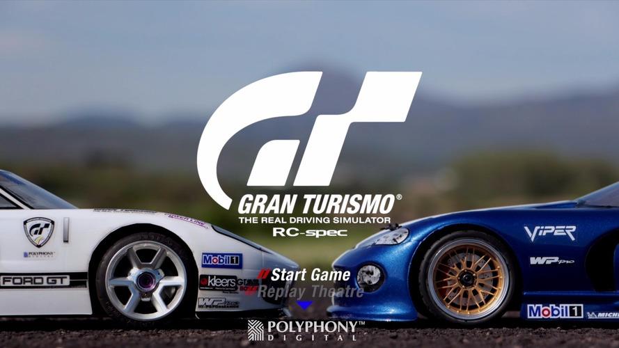 VIDÉO - Une course de Gran Turismo avec des voitures radio-commandées