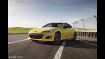 Subaru BRZ Series.Yellow