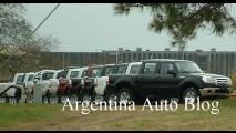 Nova Ford Ranger 2010 é flagrada por completo sem disfarces - Lançamento será mês que vem