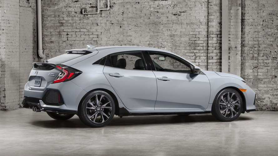 2017 Honda Civic hatchback revealed, coming to the U.S. this fall