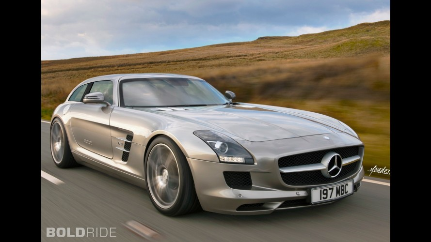 Mercedes-Benz SLS Shooting Brake Concept
