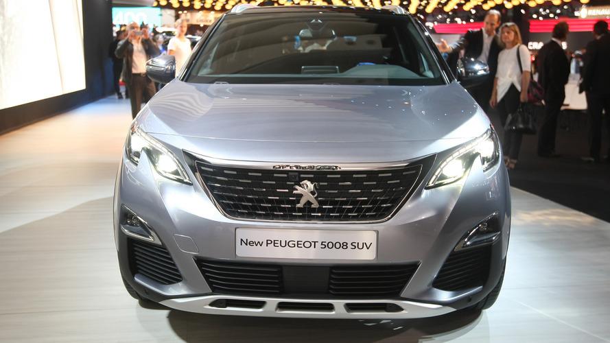 2016 Peugeot 5008 Paris Otomobil Fuarı