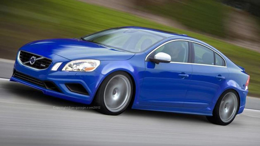 Volvo S60R Polestar speculatively rendered