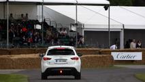 Sebastian Vettel drives namesake Infiniti FX for first time at Goodwood 02.07.2012