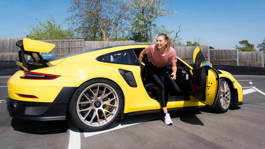 Maria Sharapova, Mark Webber Hit The Track In Porsche 911 GT2 RS