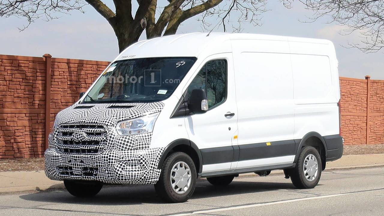 Image Result For Ford Transit Electric Van