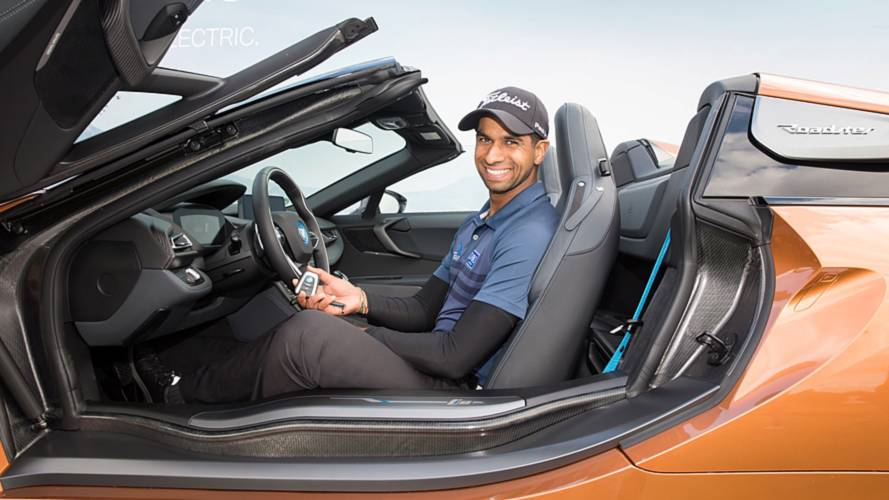 Golfer wins BMW i8 Roadster for hole-in-one shot