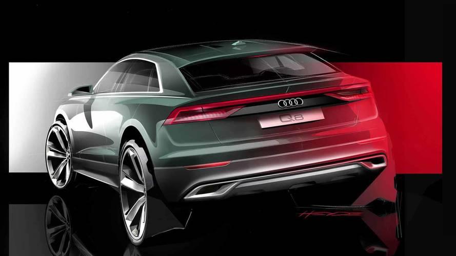Audi Q8 aparece em teaser e estreia em junho