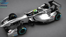 Renault Formula E race car 15.5.2013