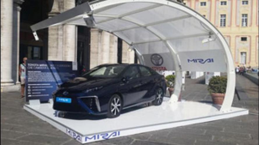 Toyota Mirai arriva in Italia, ma per poco