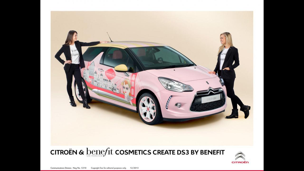 Citroen DS3 concept Benefit Cosmetics
