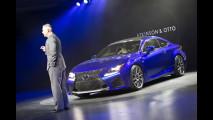 Lexus RC F al Salone di Detroit 2014