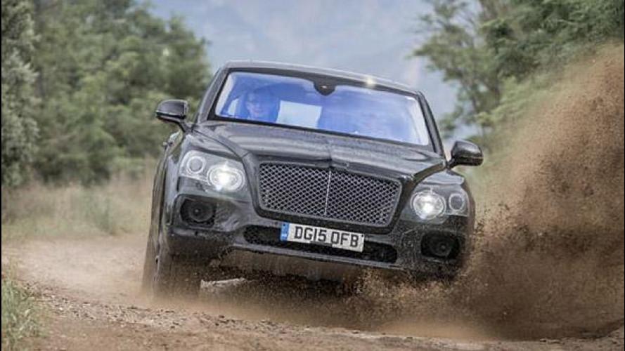 Bentley Bentayga, prove di SUV in fuoristrada [VIDEO]