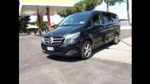 Mercedes V 220 d, la prova dei consumi reali