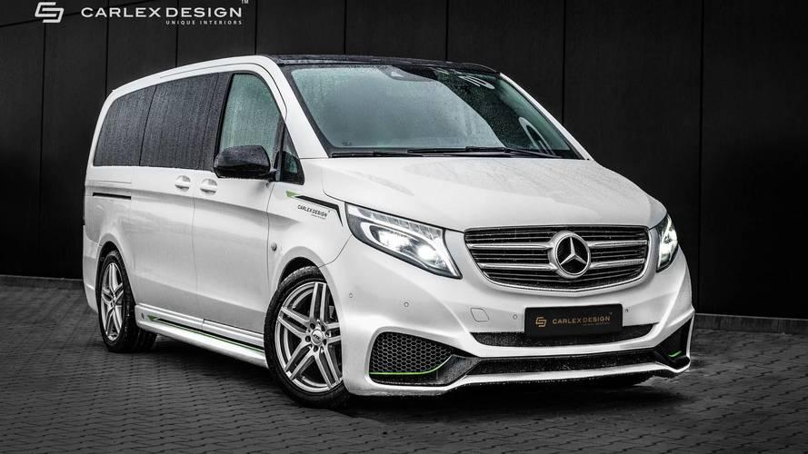 Les Mercedes Classe V et Vito revisités par Carlex Design