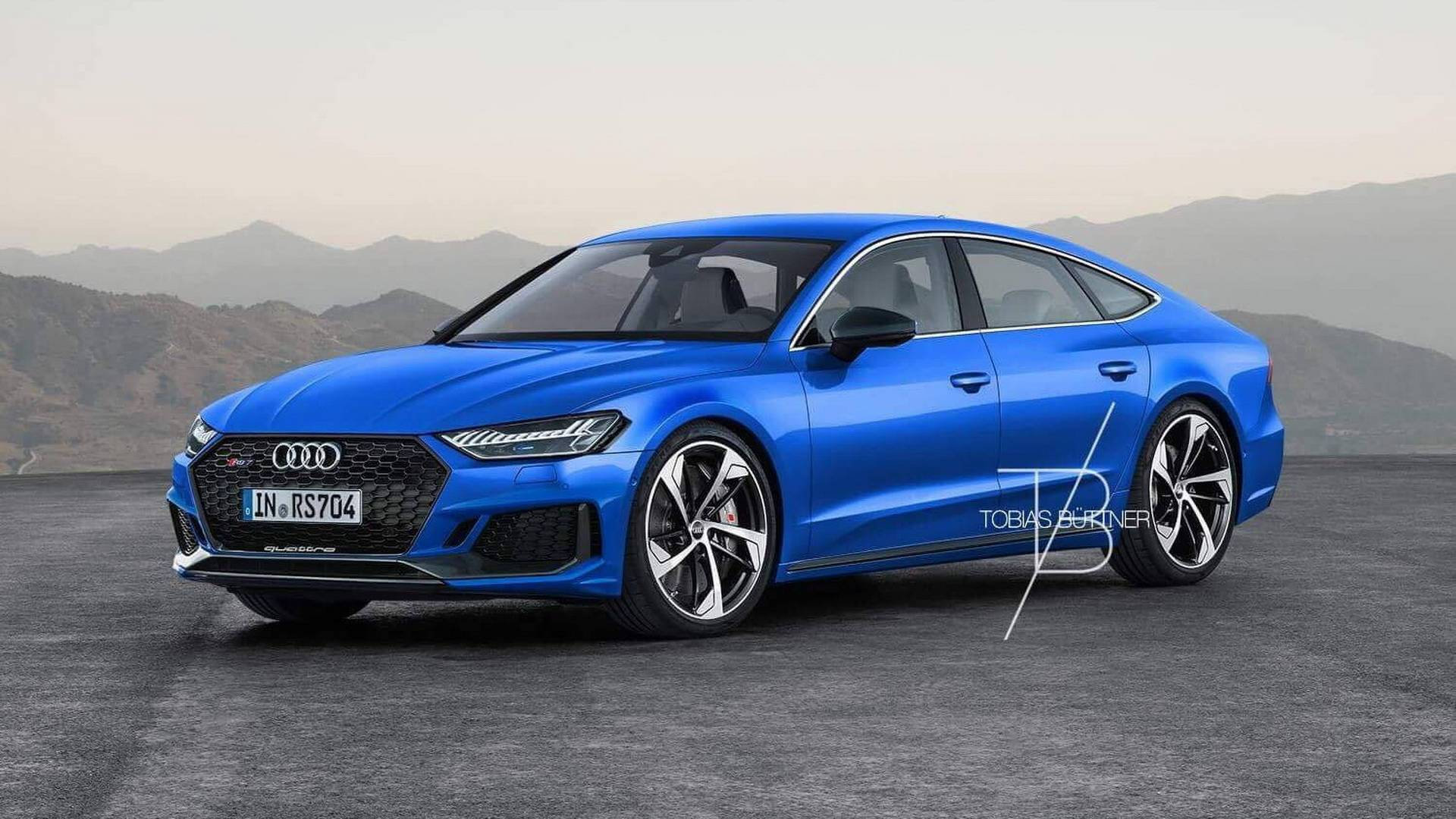 2019 audi rs7 rendered could come with 700 hp hybrid. Black Bedroom Furniture Sets. Home Design Ideas