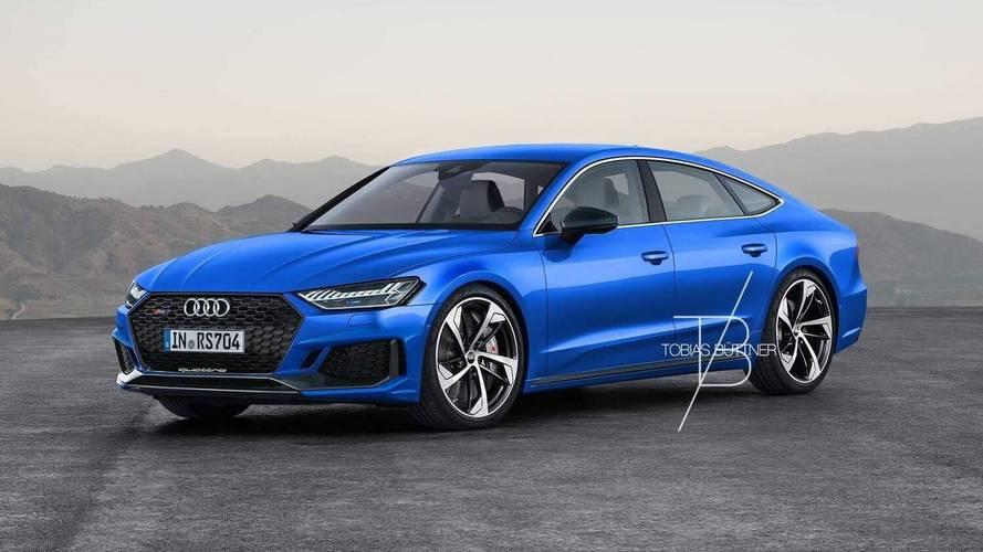 2019 Audi RS7, 700 beygir gücünde hibrit motorla gelebilir