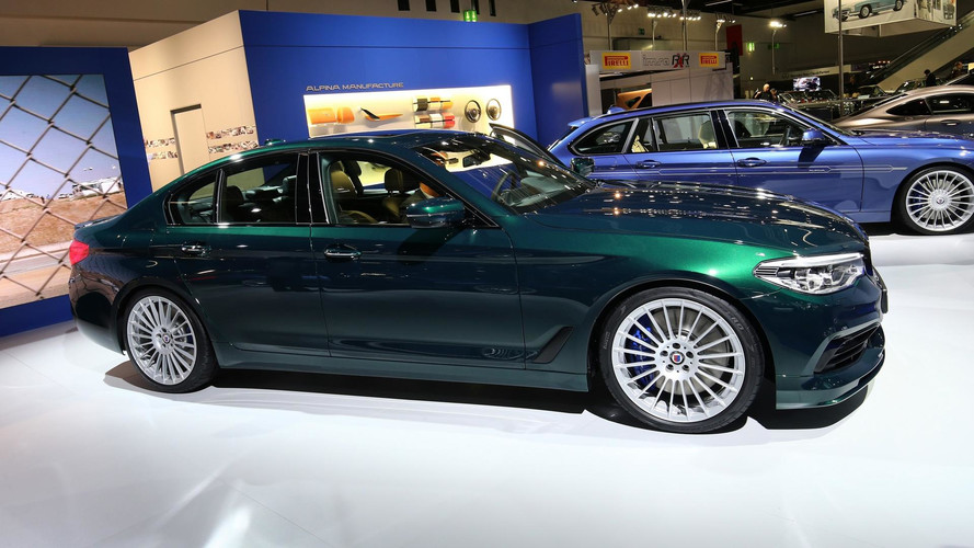 L'Alpina D5 S en images au Salon de Francfort