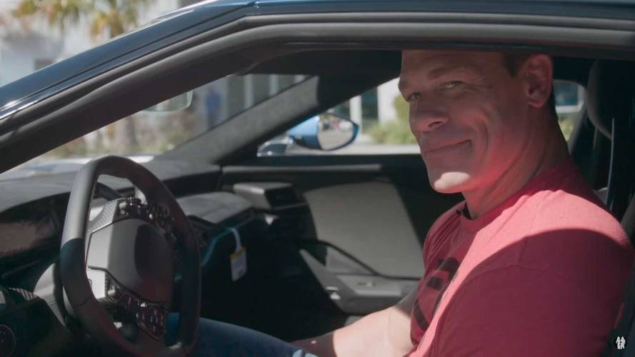 Ford Sues John Cena For Reselling His 2017 GT