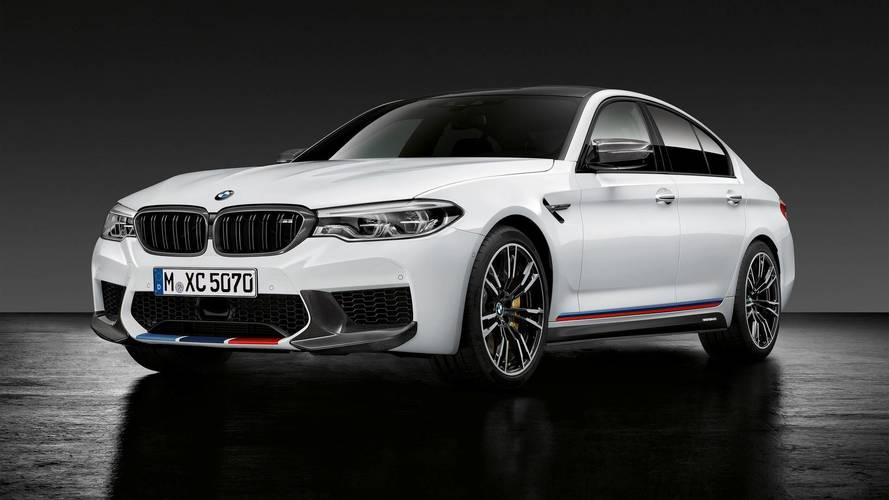 La BMW M5 s'embellit avec les accessoires M Performance