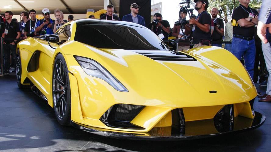 1,600 bg'lik Hennessey Venom F5'in hedefi 482.8 km/h