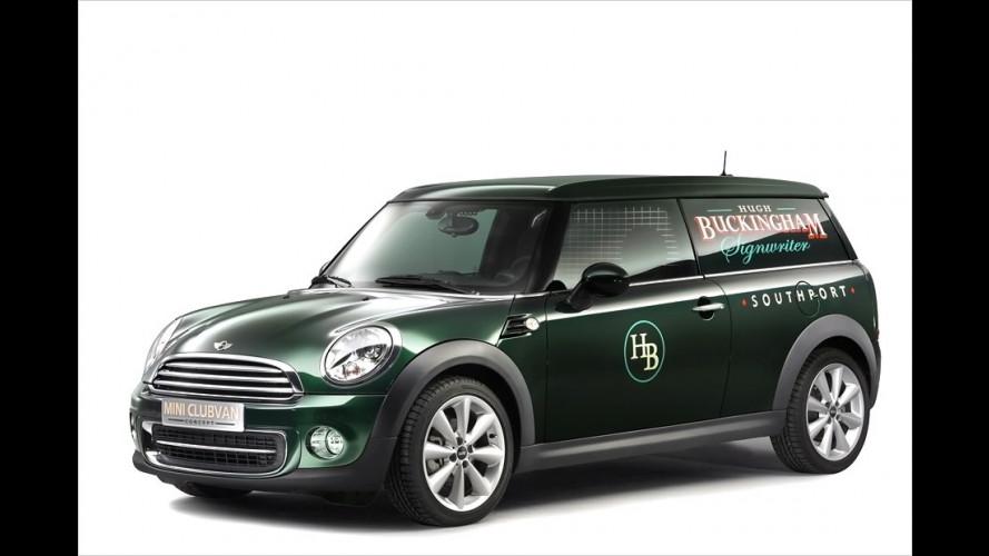 Mini Clubvan: Der Lieferwagen wird gesellschaftsfähig