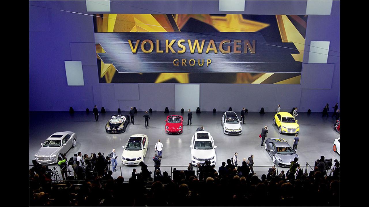 Automarkt China am Beispiel VW