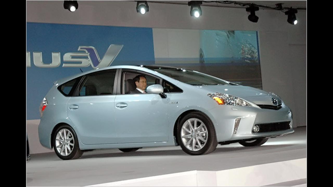 Toyota: Neue Hybride