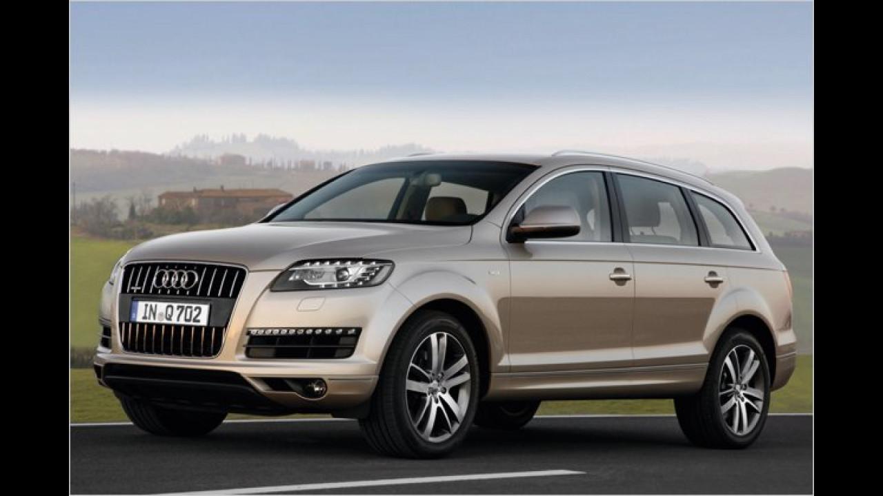 Audi Q7: Neuer Einstieg