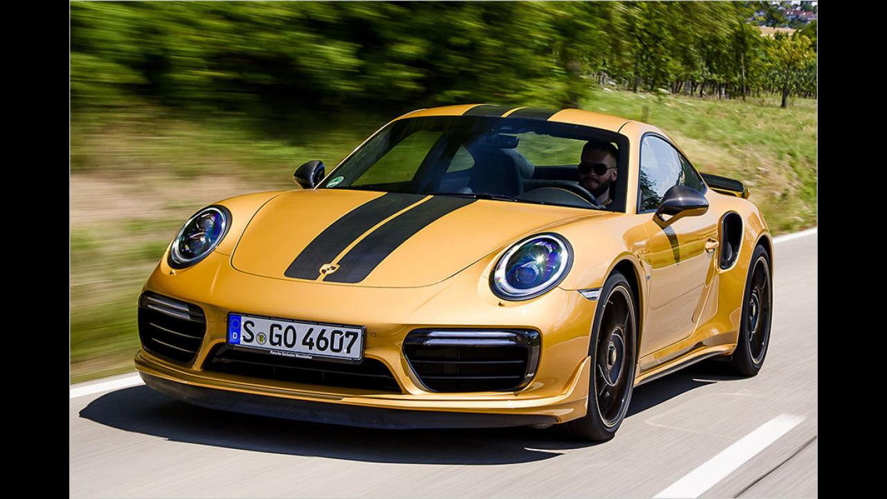 Test: 911 Turbo S Exclusive Series