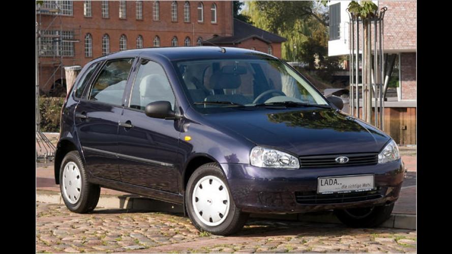 Der Lada Kalina 1119 kostet unter 8.000 Euro
