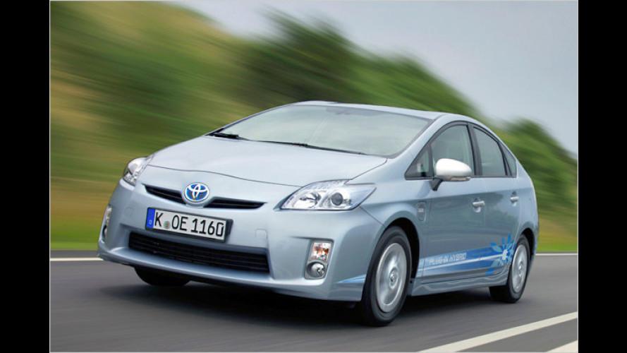 Der Prius zum Einstöpseln: Immerhin 20 Kilometer elektrisch