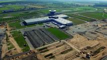Construction site of future Panamera plant
