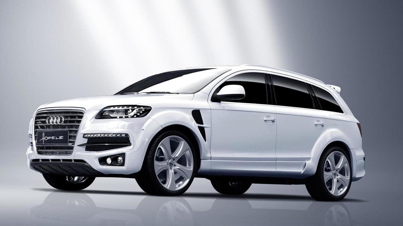 Audi Q7 facelift by Hofele Design 25.1.2013