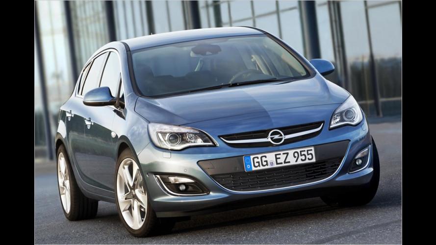 Opel Astra: Facelift und Familienzuwachs