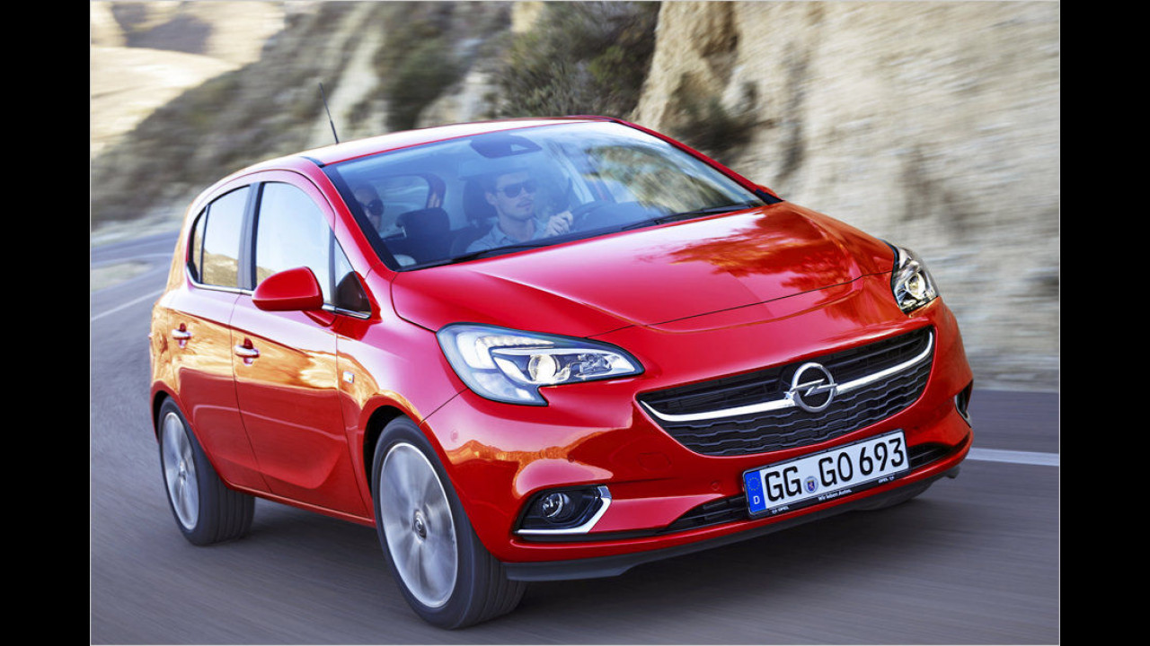 Platz 9: Opel Corsa, 4.481 Neuzulassungen