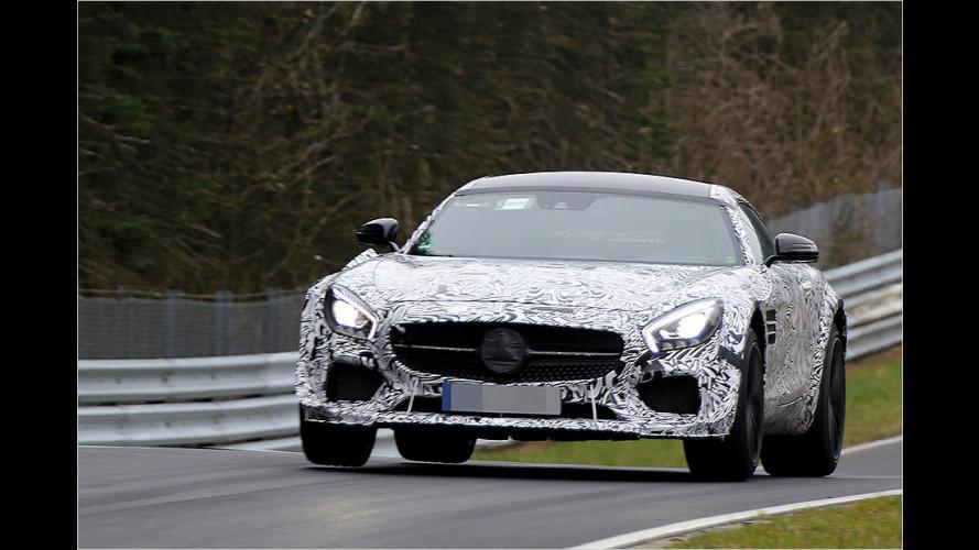 Schärferer Mercedes-AMG GT erwischt
