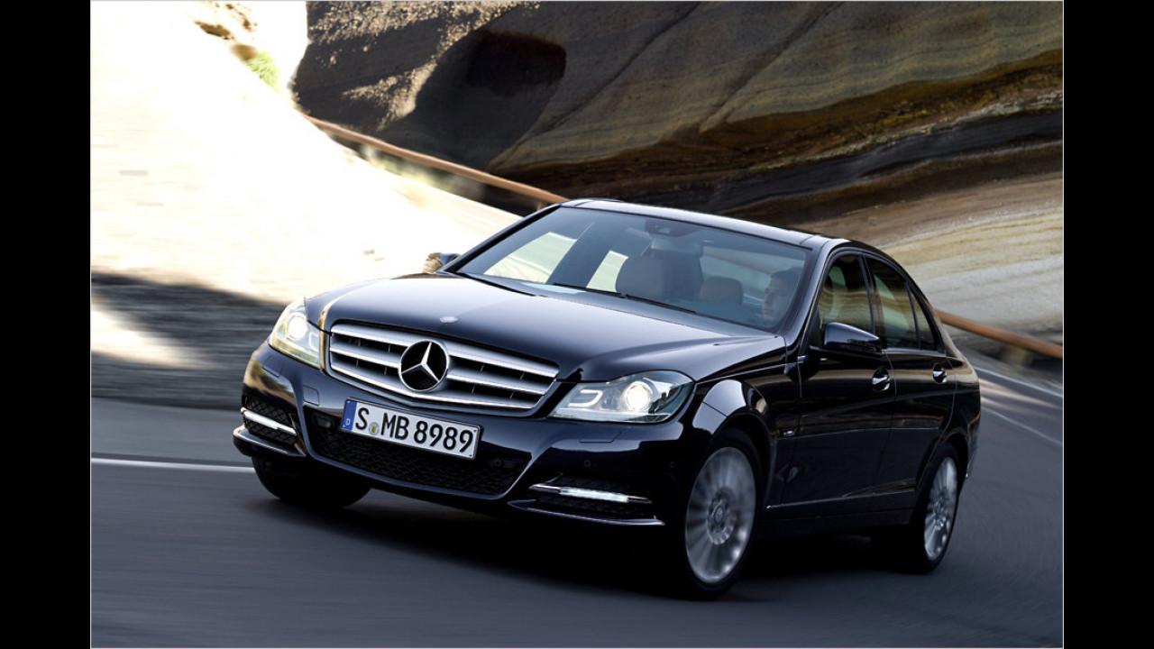 Top: Mercedes C-Klasse