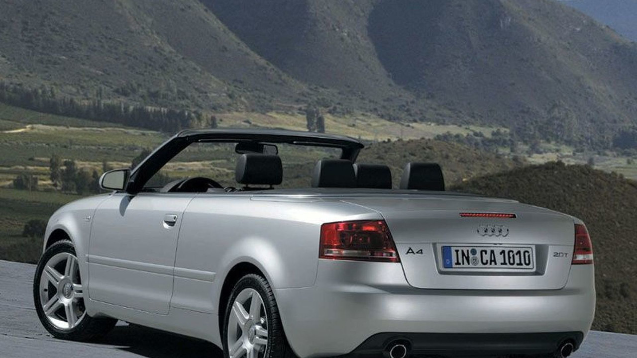 New Audi A4 Cabriolet